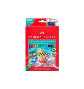 Faber-Castell - 36 EcoLápices de color acuarelables