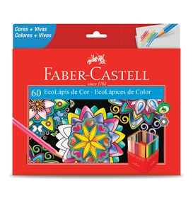 Faber-Castell - 60 EcoLápices de color largos